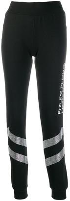 Philipp Plein Rhinestone Jogging Trousers