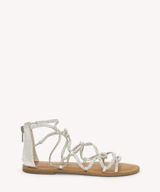 Lucky Brand Women's Anisha Gladiators Flat Sandals Black Size 5 Leather From Sole Society
