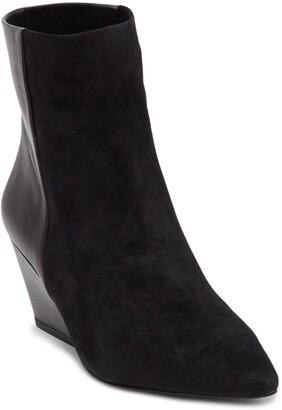 Rebecca Minkoff Namie Suede & Leather Bootie
