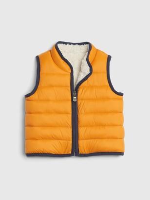 Gap Baby ColdControl Reversible Puffer Vest