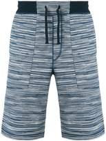 Missoni striped track shorts
