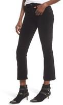 Hudson Women's Brix High Waist Crop Bootcut Jeans