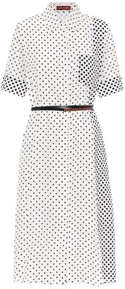 Altuzarra Kieran polka-dot silk shirt dress