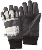 L.L. Bean Rangeley Waterproof Gloves, Plaid