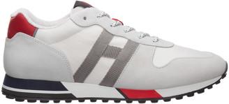 Hogan Low Top Panelled Sneakers