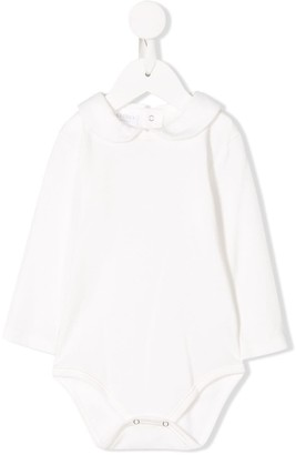 La Perla Kids Peter Pan collar body