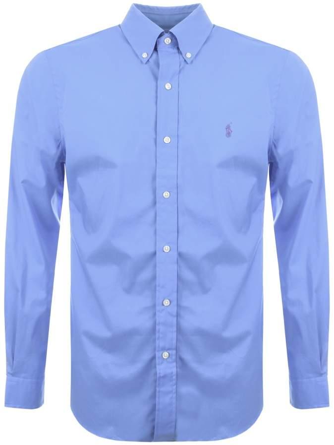 Ralph Lauren Slim Fit Shirt Blue