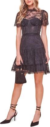 ASTR the Label Leilani Lace Cocktail Dress