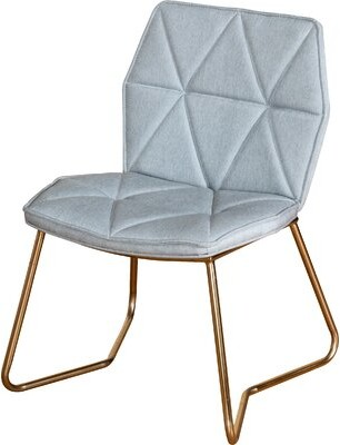 Statements By J Tally Side Chair (Set of 2 Upholstery Color: Gray
