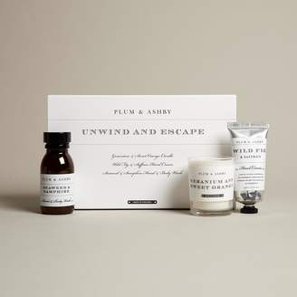 Plum & Ashby - Unwind and Escape Gift Set