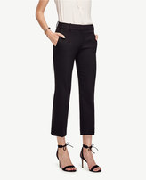 Ann Taylor Tall Refined Kick Crop Flare