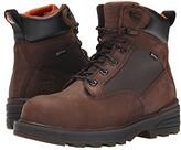 Timberland 6 Resistor Composite Safety Toe Waterproof Boot (Brown) Men's Work Boots