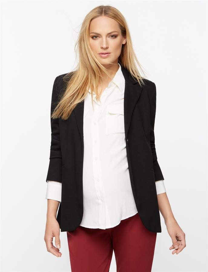 Isabella Oliver Pea Collection Earlham Maternity Blazer