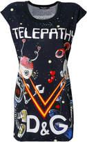 Dolce & Gabbana Telepathy print T-shirt