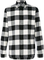 Neil Barrett checked flannel shirt - men - Cotton - 39