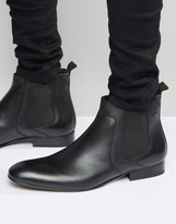 Base London Forbes Leather Chelsea Boots
