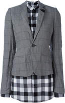 A.F.Vandevorst layer fitted blazer