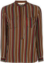 Vanessa Bruno striped mandarin collar shirt