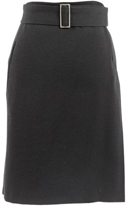 CNC Costume National Black Wool Skirts