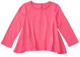 Ralph Lauren Flared Long-Sleeve T-Shirt, Baby Girls (0-24 months)
