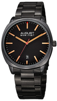 August Steiner Classic Date Display Stainless Steel Watch, 42mm