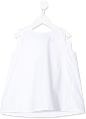 Douuod Kids Back Bow Blouse