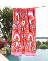 John Robshaw Vaya Pink Beach Towel