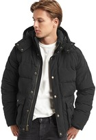 Gap ColdControl Max heavyweight hooded puffer coat