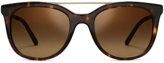 Tory Burch Wire-Bridge Sunglasses