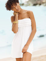 Beach Sexy Strapless Ruffle Cover-up