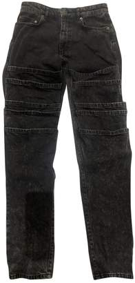 Y/Project Black Polyester Jeans