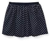 Ralph Lauren Polka-Dot Twill Circle Skirt Navy/White 3T