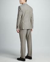 HUGO BOSS Sharkskin Suit, Tan
