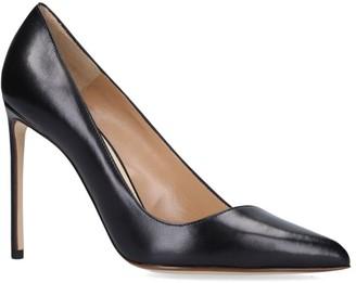 Francesco Russo Leather Stiletto Pumps 105