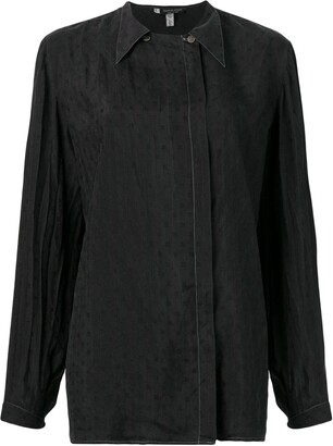 Giorgio Armani Pre-Owned 1990's Pointed Collar Shirt