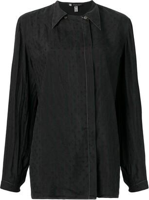 Giorgio Armani Pre Owned 1990's Pointed Collar Shirt