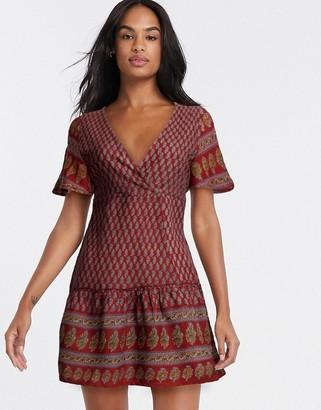 Raga avah mini dress in multi