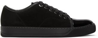 Lanvin Black Suede DBB1 Sneakers