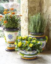 Moroccan Tile Tall Planter