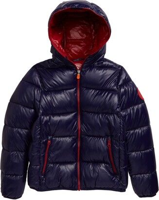 Save The Duck Quilted Hooded Puffer Jacket