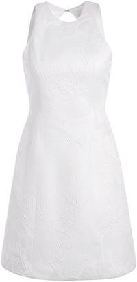 Alice + Olivia Coralia Floral White Mini Dress