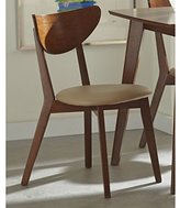 Coaster 103062 Home Furnishings Side Chair (Set of 2), Chestnut