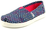 Toms Classic Youth US 3.5 Blue Flats