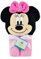 Disney Minnie Mouse Hooded Towel in Pink