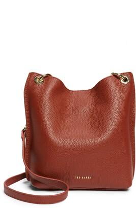 Ted Baker Mini Holiiee Leather Crossbody Bag