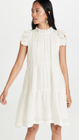 Thumbnail for your product : Sea Tier Waverly Flutter Sleeve Dress