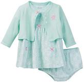 Little Me Owl Dress Set (Baby Girls)