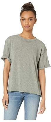 Free People Cassidy Tee (Black) Women's T Shirt