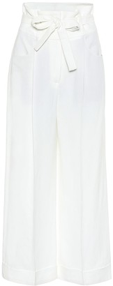 Brunello Cucinelli Exclusive to Mytheresa a High-rise wide-leg pants