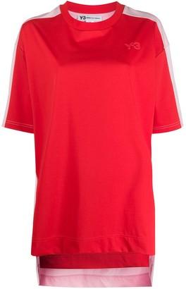 Y-3 colour-block T-shirt